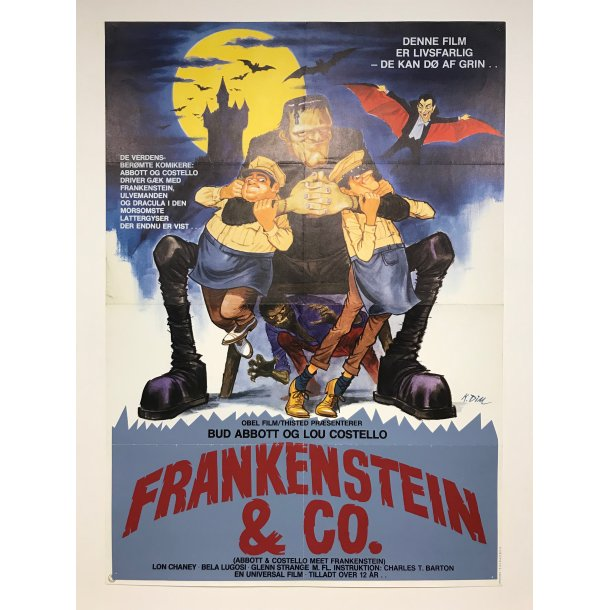 Abbott & Costello - Frankenstein & Co.